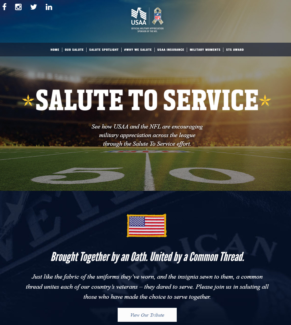 usaa-nfl-salute-to-service-tribute