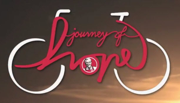 KFC Journey of Hope logo