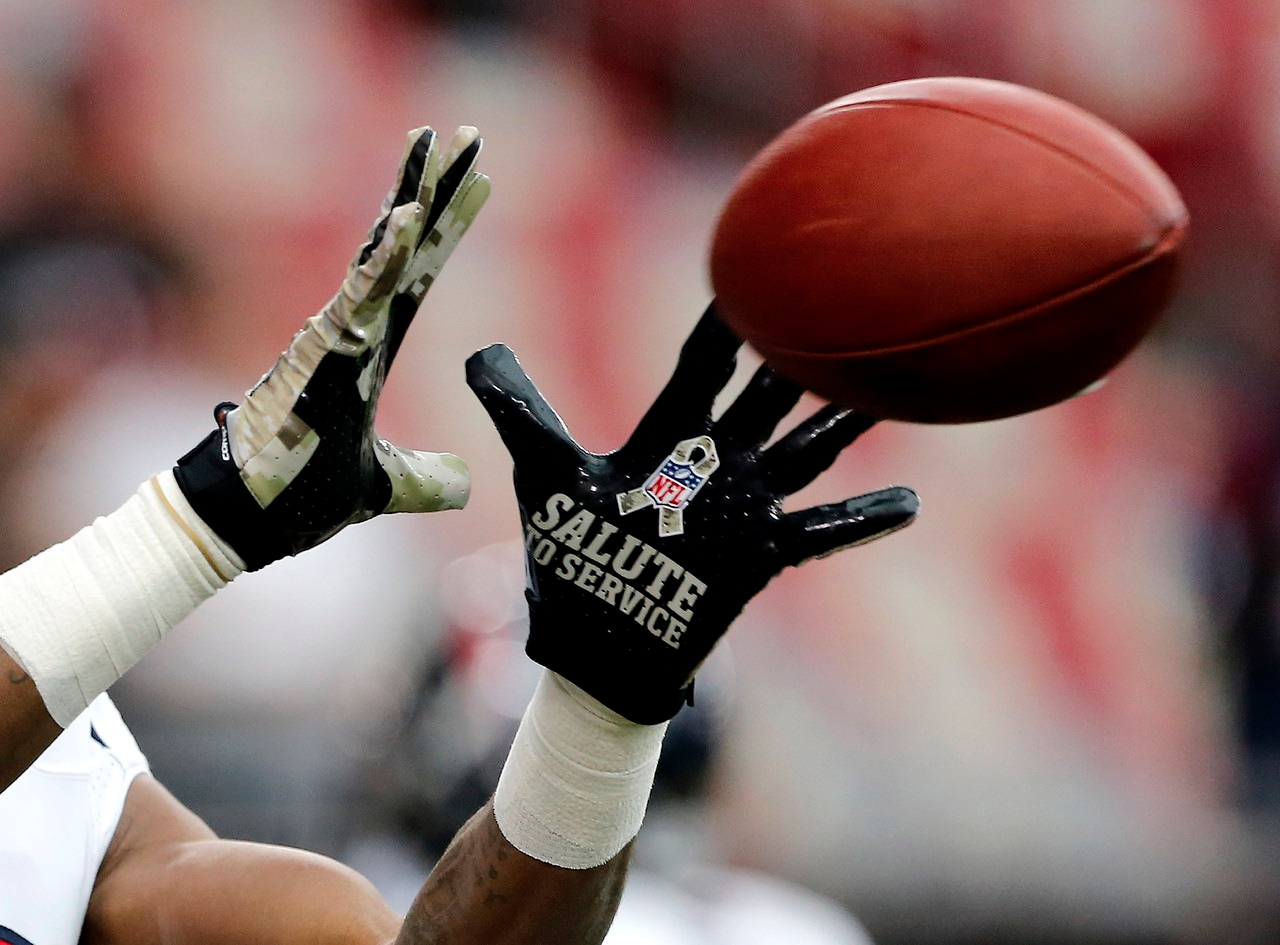 NFL Salute to Service - Gloves