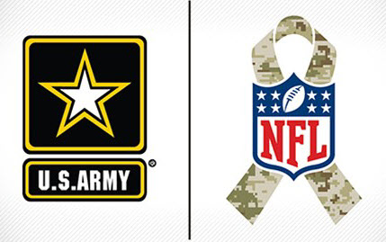 NFL Salute to Service Ribbon
