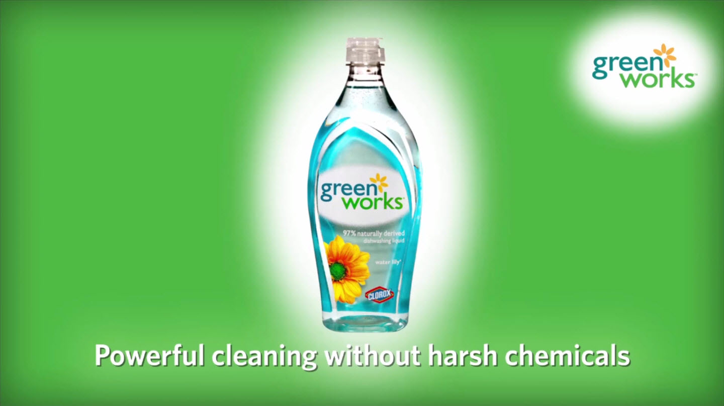 Clorox Green Work Dishwashing Liquid