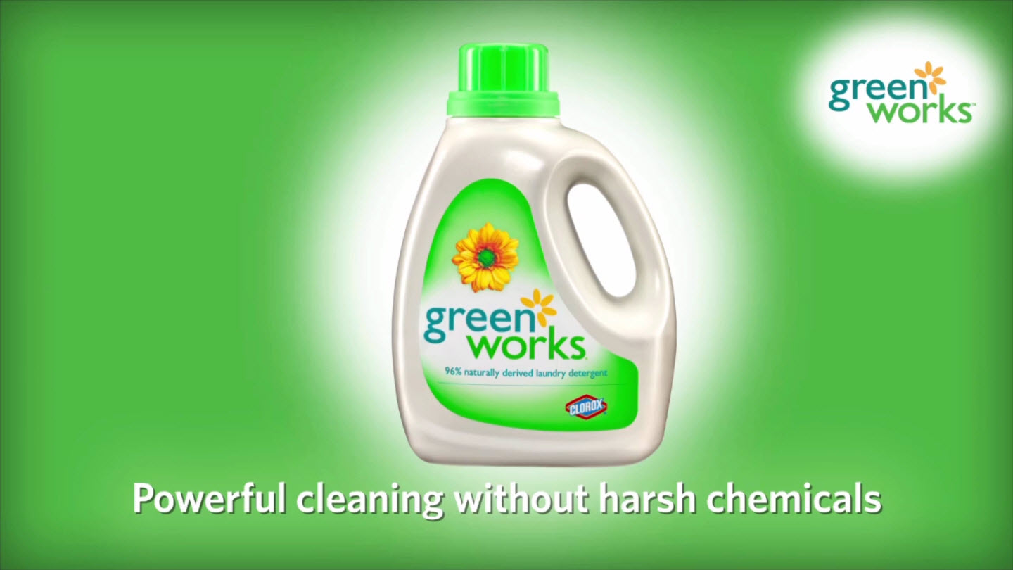 Clorox Green Works - Laundry Launch Ad