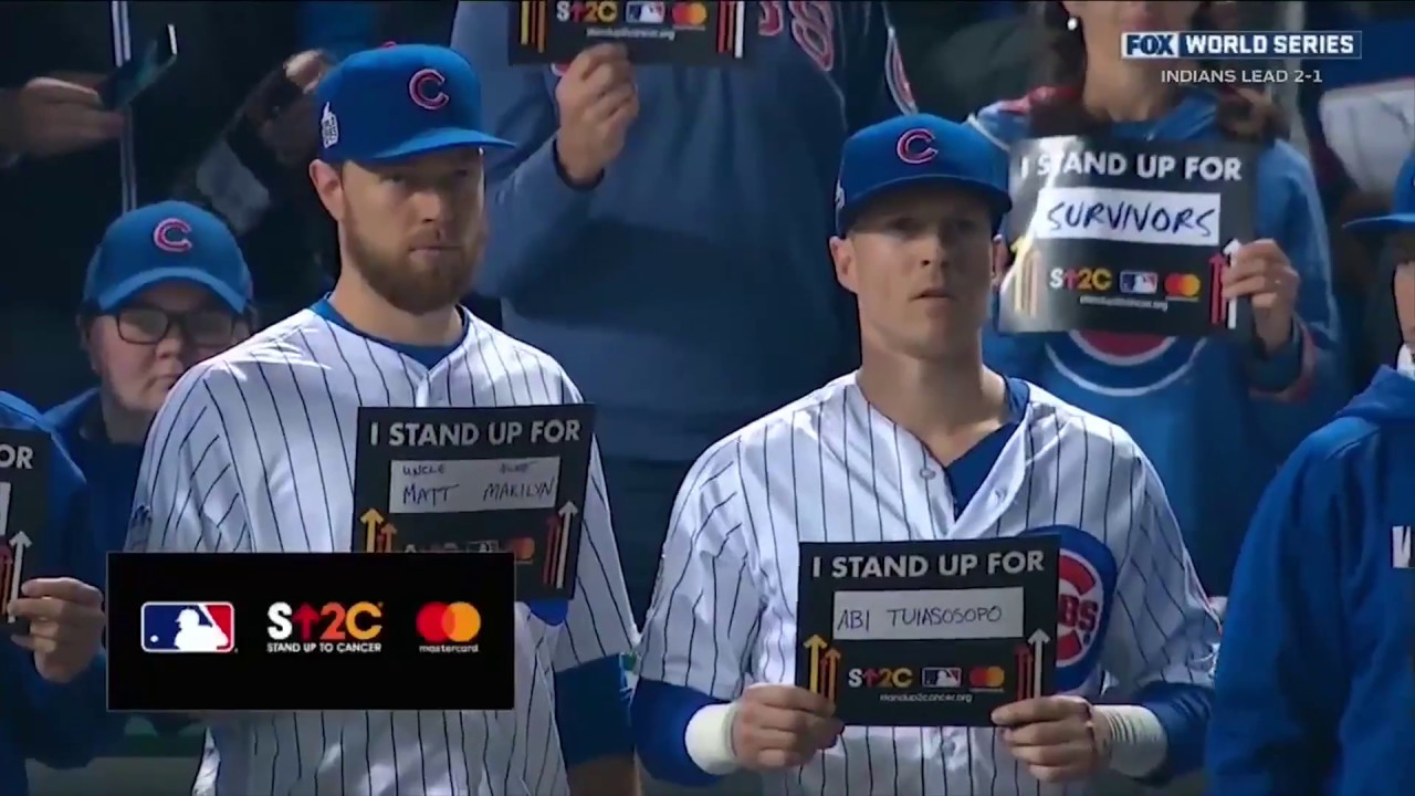 MasterCard at the 2016 World Series