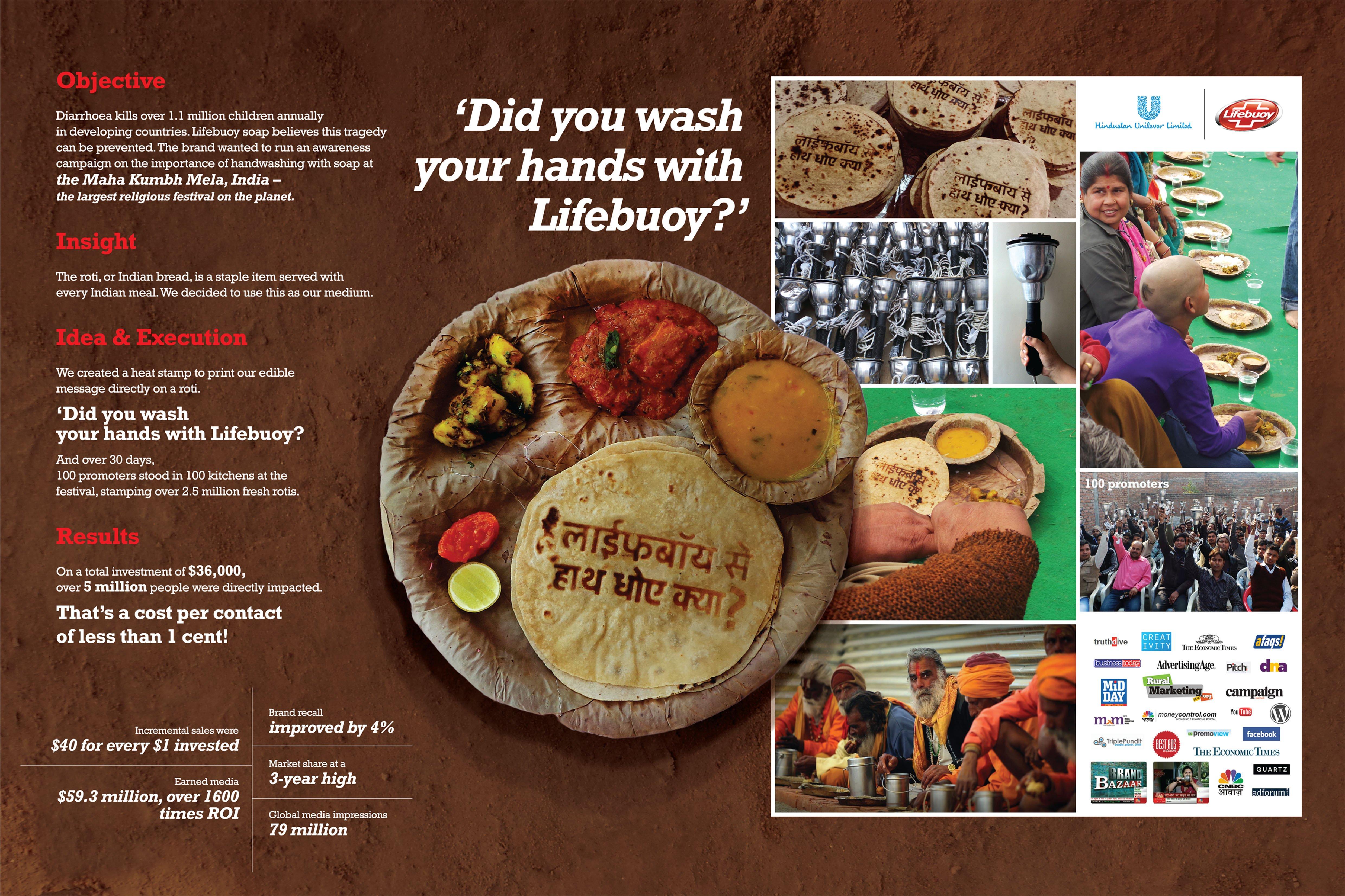 LIfebuoy Wash HandsRoti Reminder