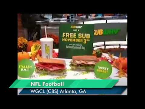 Subway National Sandwich Day