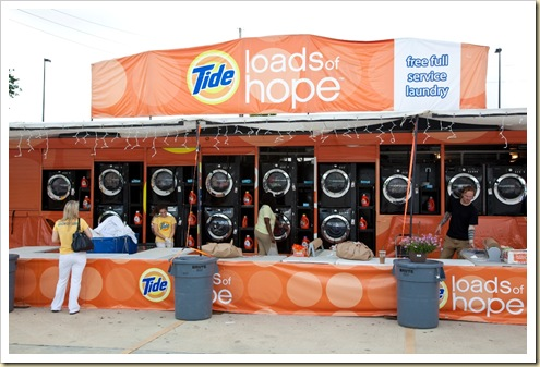 Tide Loads of Hope Free Laundry