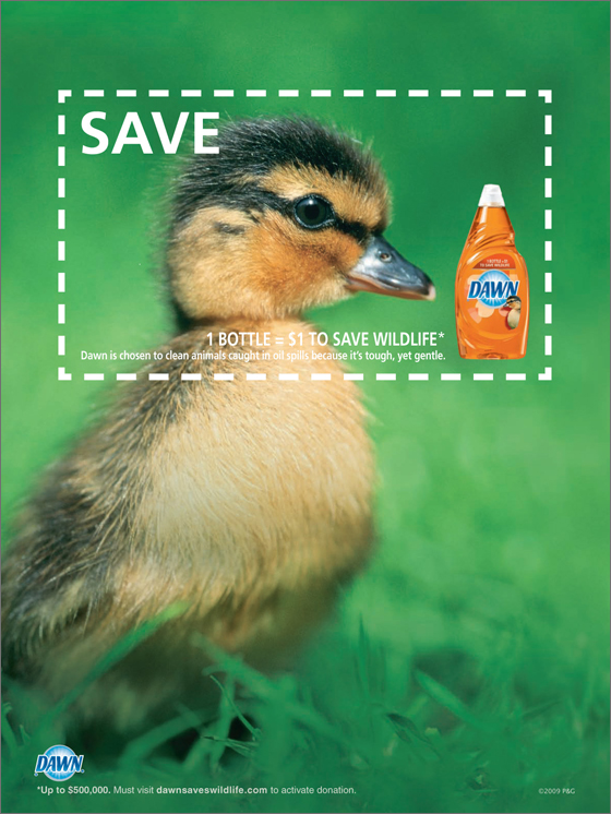 Dawn Save Wildlife coupon - duck
