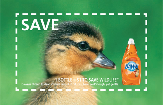 Dawn Save Wildlife duck coupon