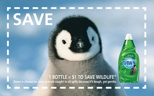 Dawn Save Wildlife coupon