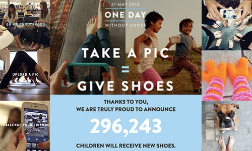 TOMS One Day Without Shoes Results