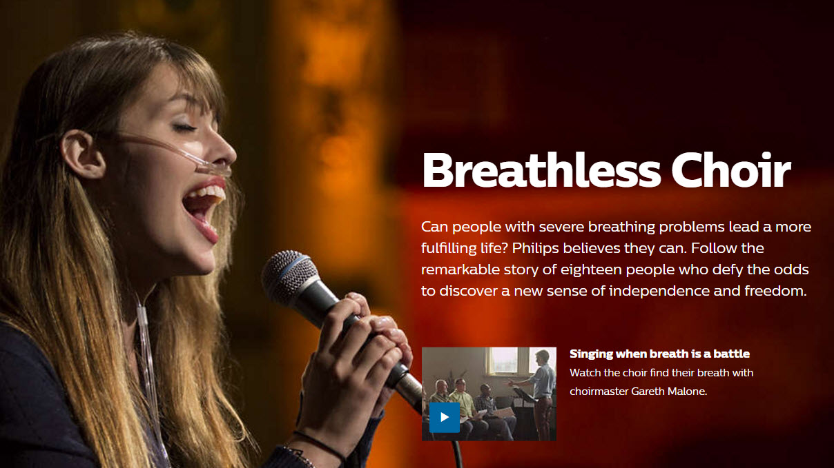 Philips Breathless Choir