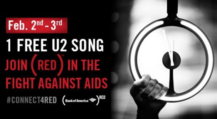 Bank of America (Red) U2