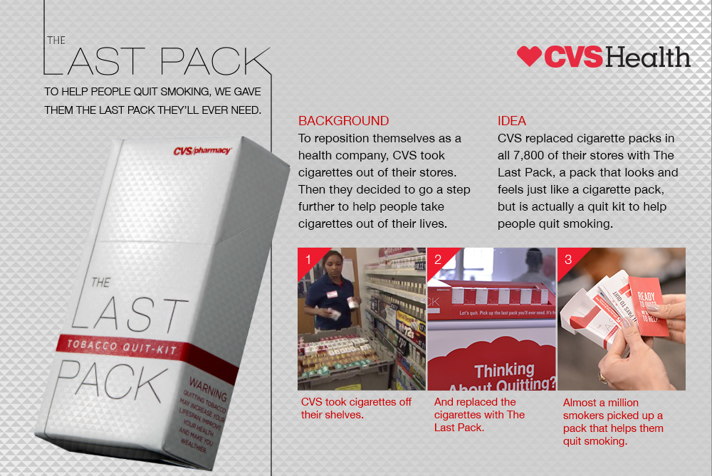 CVS Health 'The Last Pack' Campaign