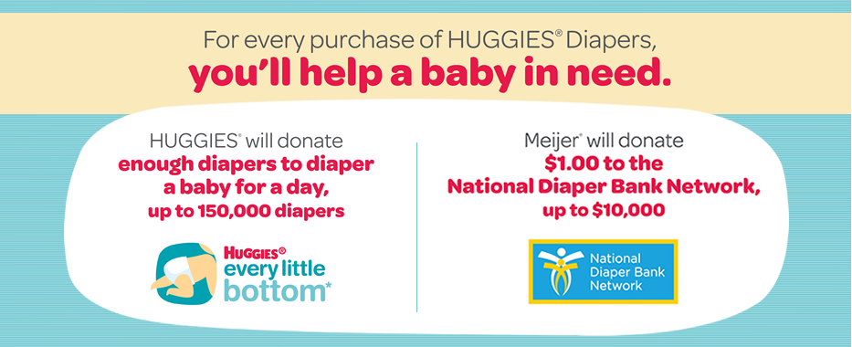 Huggies Meijer Every Little Bottom