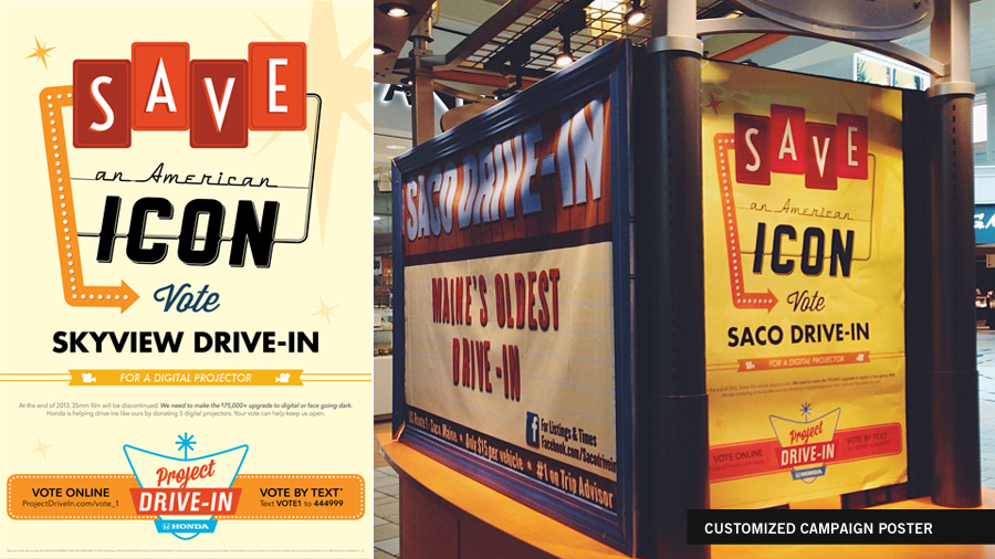 Project Drive-In Campaign Poster
